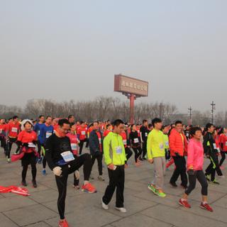 西安南湖马拉松by动的修行09:48-12:43
