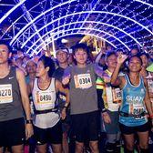 2018关岛马拉松官方赛事照片(图片均来自官方脸书)