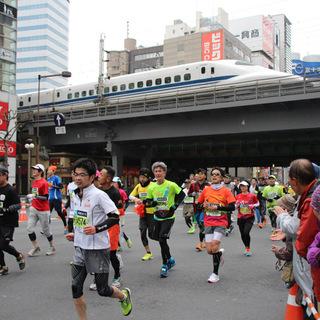 2015东京马拉松沿途花絮
