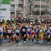 2014年首届北九州马拉松赛事照片