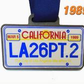 1986-2014年洛杉矶马拉松完赛奖牌