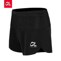 GearLab 女款多功能腰头弹力跑步短裤 女款