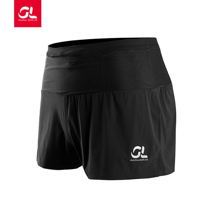 多功能跑步短裤短款
