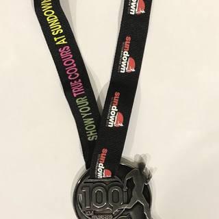 历年奖牌(图片来自官方脸书)