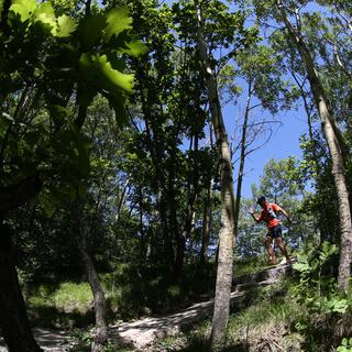 五岳寨赛道风景