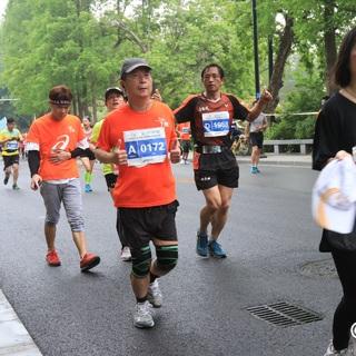 2018扬州半马6(大明寺13.5kM 10点02分-10点17分)