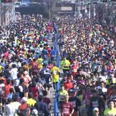 2018静冈马拉松赛事照片