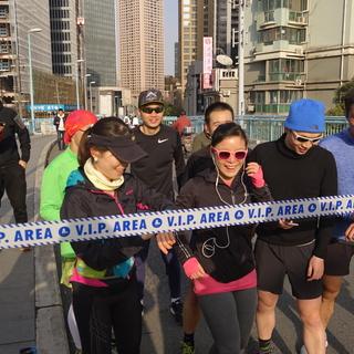第三届普济路桥国际马拉松盛况 photo by +1