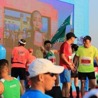 2017西樵山国际半程马拉松