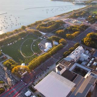 2017芝加哥马拉松官方赛事照片(图片均来自官方脸书)