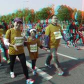 2018南京江宁春牛马拉松比赛立体照片