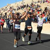 2017年雅典马拉松赛事照片(图片均来自官方脸书)