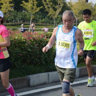 2015宁波国际马拉松 王焕 10:36-10:51