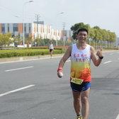 2015宁波国际马拉松 王焕 11:18-12:01