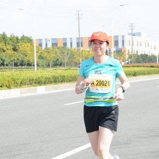 2015宁波国际马拉松 王焕 12:37-13:09