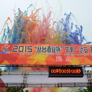 2015邯郸武安首届全民马拉松