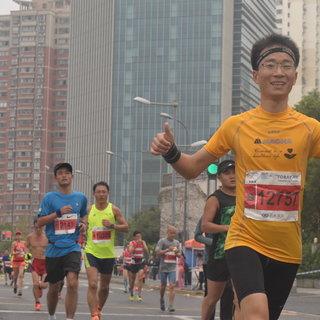 20151108上海马拉松