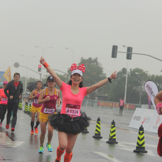 2015上海浦东国际女子半程马拉松