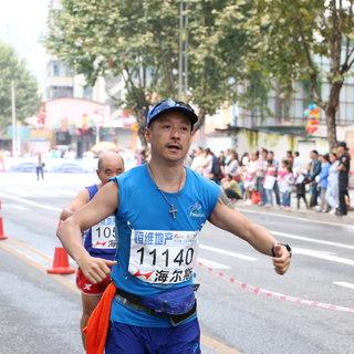 六盘水马拉松30公里-张新连 11:28-11:47