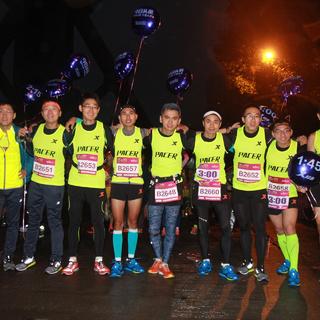 2015 上海浦东国际女子半程马拉松赛起点花絮
