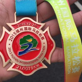 2015福州马拉松半马