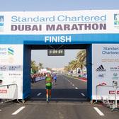 2018渣打迪拜马拉松赛事照片(图片均来自官方网站)