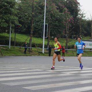 5km后6km前 8:19分~8:39分