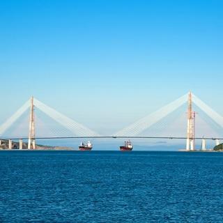 """2015""""海参崴桥""""半程马拉松"""