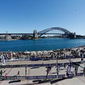 2017悉尼马拉松赛事照片(图片来自官方脸书)