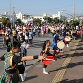 2018冲绳马拉松官方赛事照片(图片均来自官方脸书)