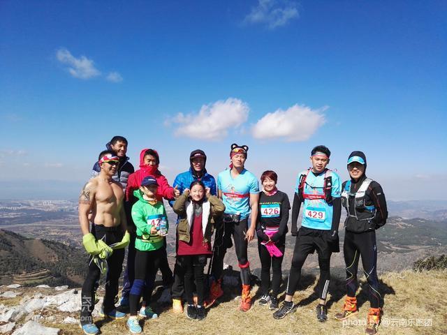 2016年昆明乐跑梁王山越野巡回赛