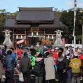 2017神户马拉松官方赛事照片(图片均来自赛事官方脸书)