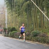 德清马拉松3公里及终点