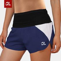 GearLab 女款拼接跑步短裤 女款