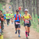 2017净月马拉松全程 10公里处