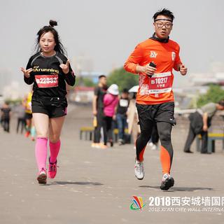 2018西安城墙马拉松