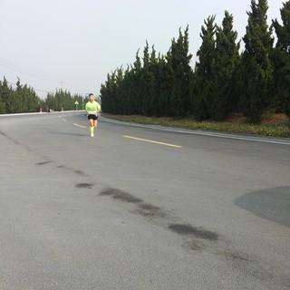 青岛毅跑救援队义务摄影点31公里处
