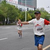 东营黄河口国际马拉松照片