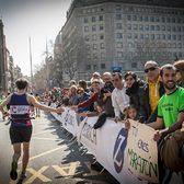 2018巴塞罗那马拉松赛事官方照片(图片均来自官方脸书)