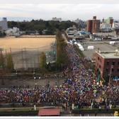 2017富山马拉松赛事官方照片(图片均来自赛事官方脸书)
