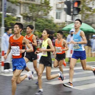 2018上海国际马拉松赛