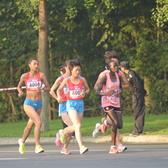 2016成都女子半程马拉松13KM