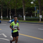 黄埔马拉松-42km点