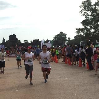 2016吴哥窟半程马拉松
