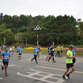黄埔马拉松-10km点