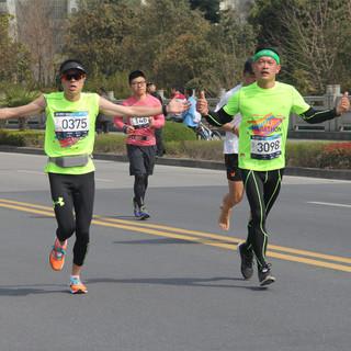 20-21km处 10:14-11:00