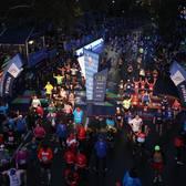 2017纽约马拉松奖牌及赛事照片(图片均来自官方脸书)