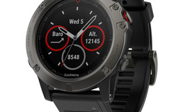 Slate-gray-fenix-5x-sapphire-with-black-band-front-1