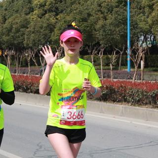17-18km处 9:50-10:11