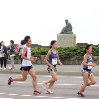 2017年函馆马拉松赛事照片(图片均来自官方脸书)